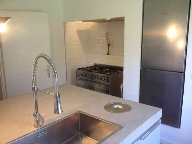 Küche mit Gasherd