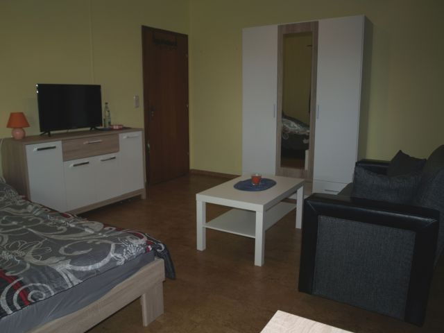 Das Wohn/Schlafzimmer