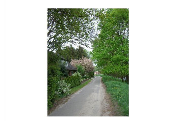 Der Wanderweg beginnt vor der Haustür
