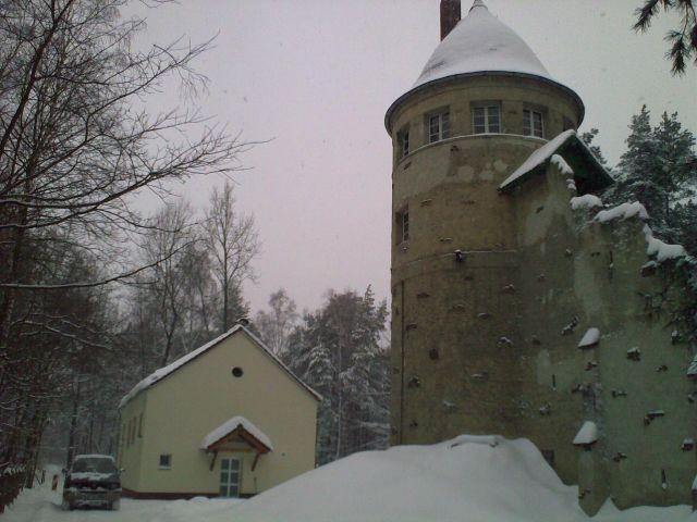 Forsthaus im Winter