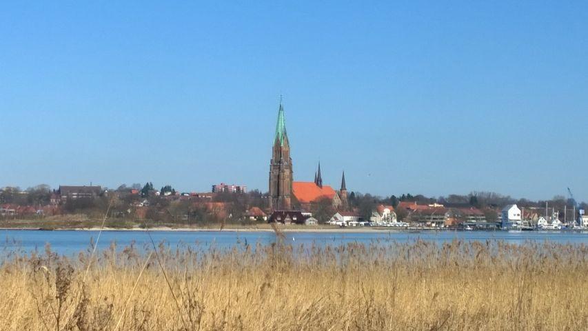 Blick nach Schleswig