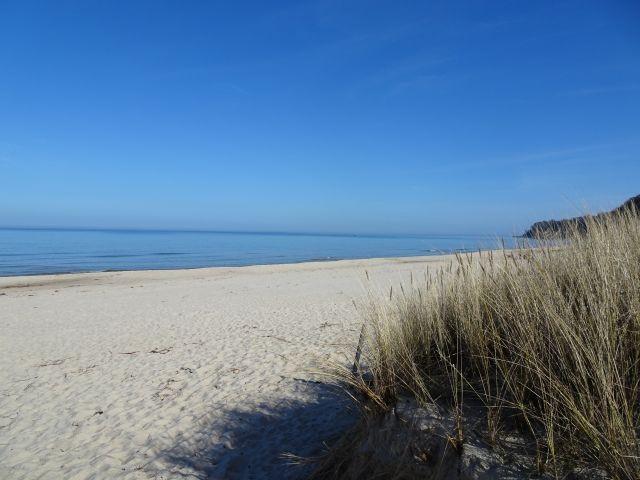 9 km Sandstrand ( Hunestrand)