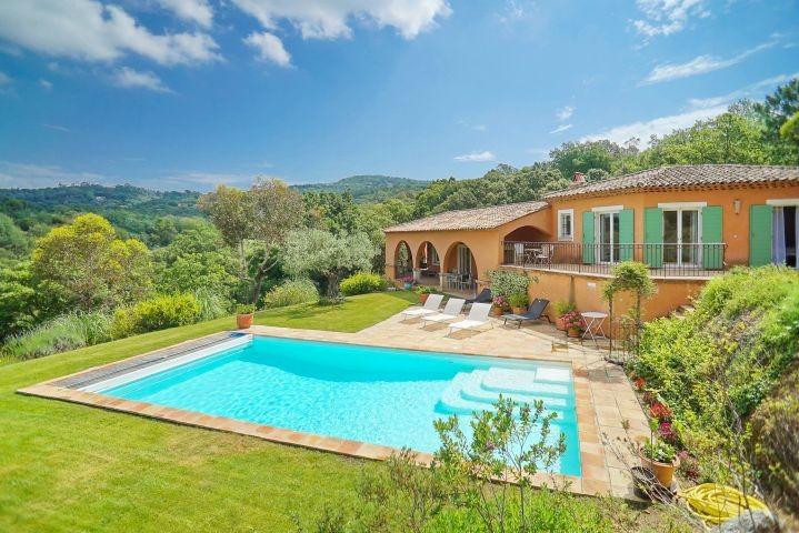 Ferienhaus mit privatem Pool auf der Halbinsel von Saint-Tropez