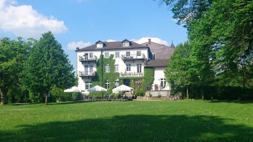 Restaurant Café Schloß Neuhof - 350 m entfernt