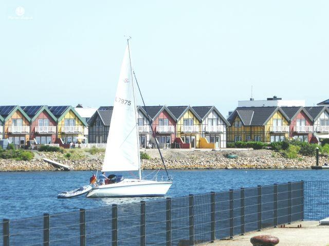 Ausblick von der Hafenterrasse