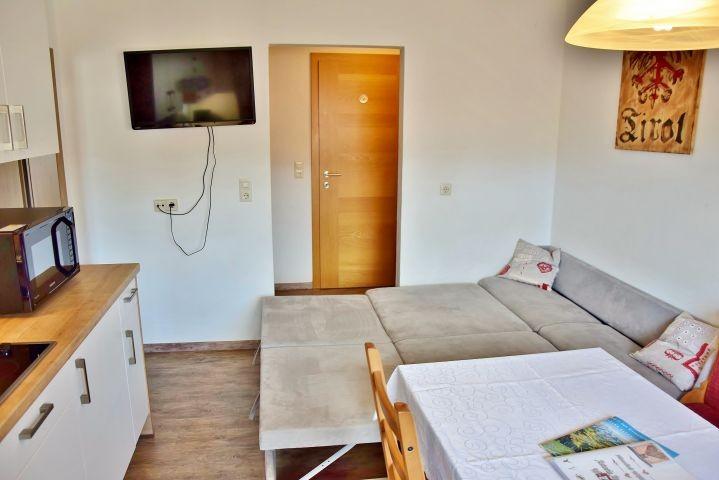 Apartment fuer 2 - 4 Personen Schalfcouch