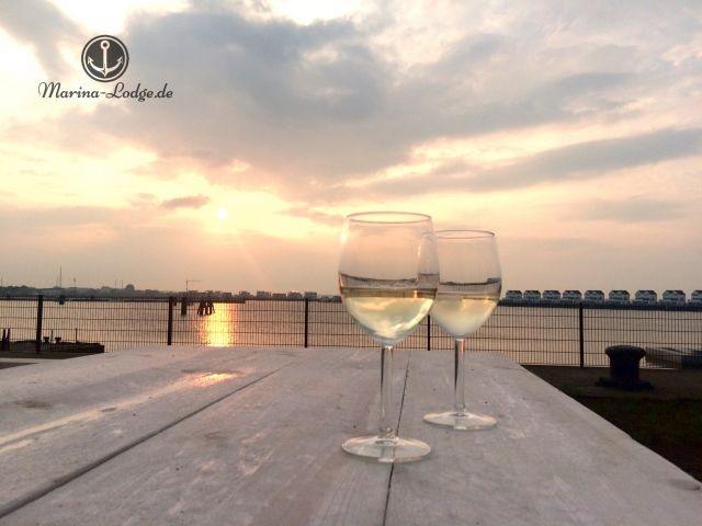 Sonnenuntergang auf Ihrer Terrasse