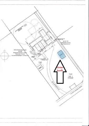 Lageplan Unterkunft auf dem Gemeinschaftsgrundstück