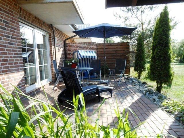 Ferienhaus mit 2 Wohnungen, getrennte Terrassen u. Gärten