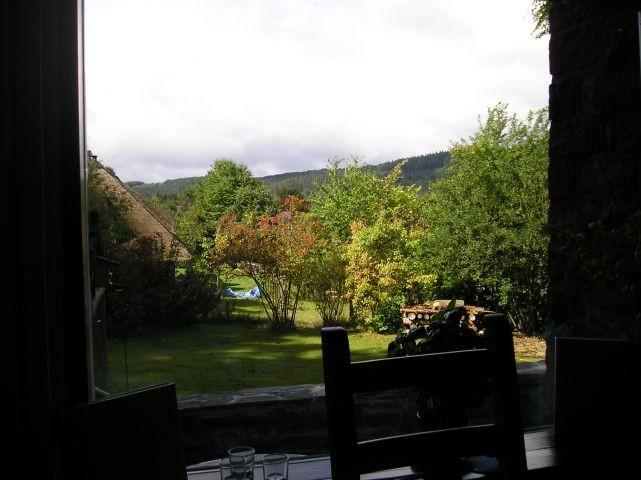 Panoramablick vom Esstisch