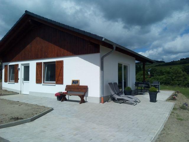 Terrasse Ferienhaus Kastanie