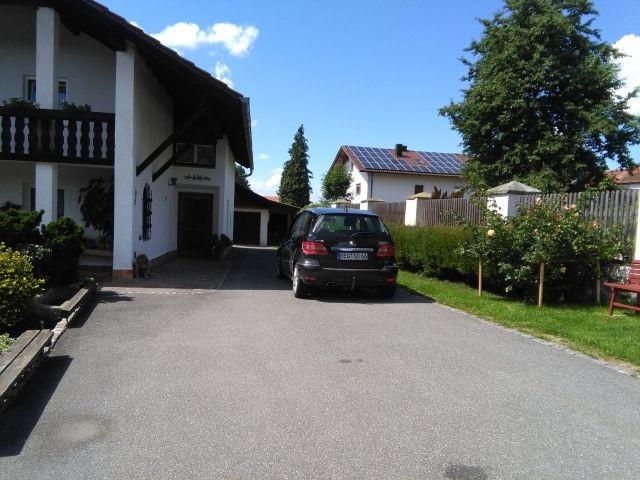 Parkmöglichkeit direkt vor dem Haus