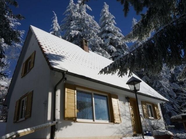 Das Schwarzwald Ferienhaus - im Winter