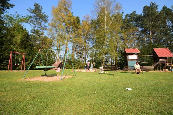 Spielplatz im Feriendorf