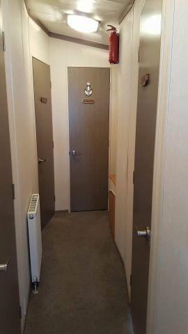 Flur zu den Schlafkammern & Badezimmer