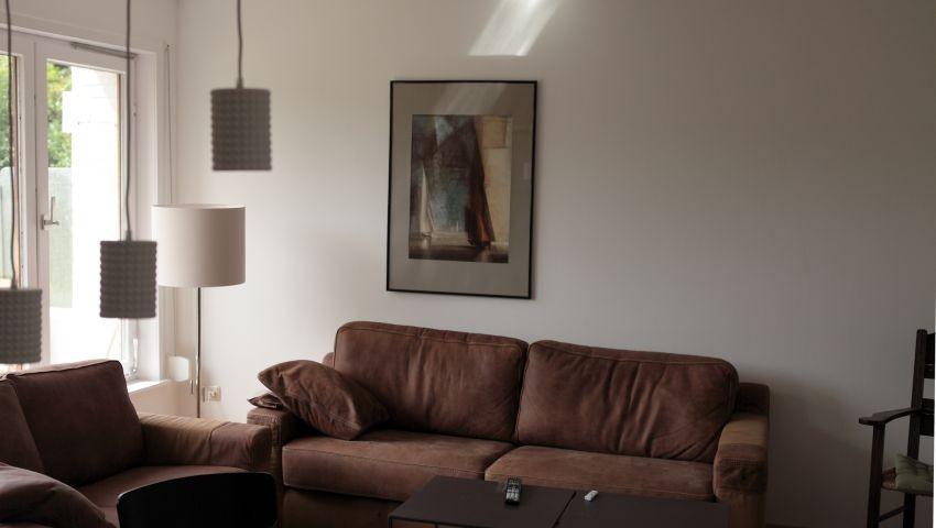 Blick in den Wohnteil der Wohn-Küche