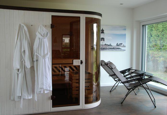 Sauna mit Schleiblick
