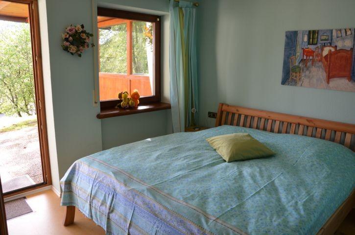 Gartengeschoss: Schlafzimmer Morgentau mit kleinem Bad