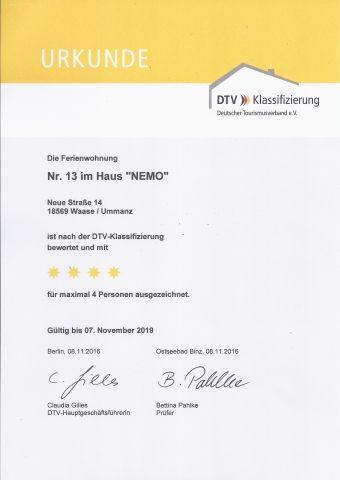 DTV Zertifikat