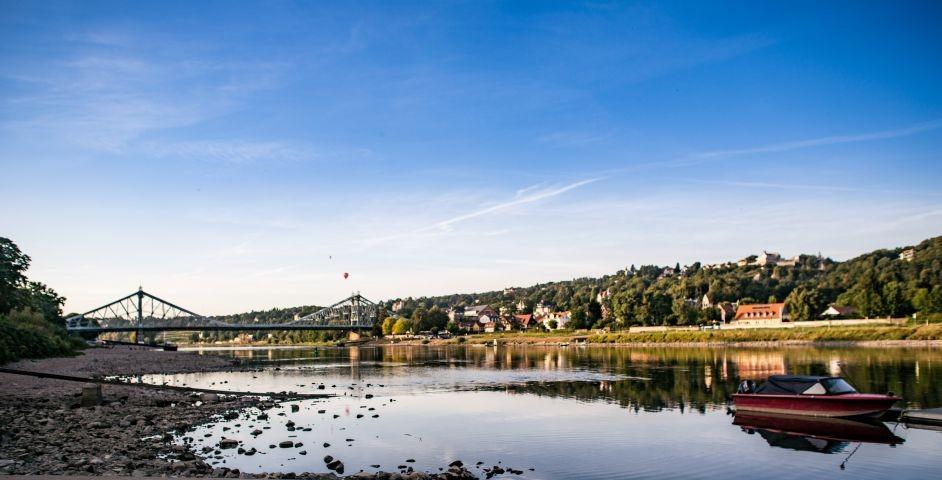Dresden und Elbe