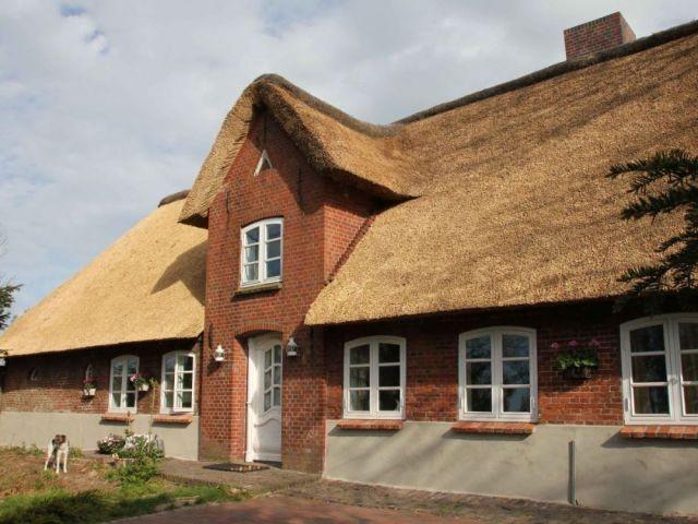 Ferienhaus Landhaus Vor Sylt Pool Sauna Zaun Nordsee