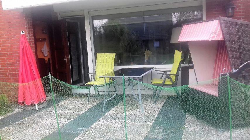 Terrasse mit/ohne Hundenetz