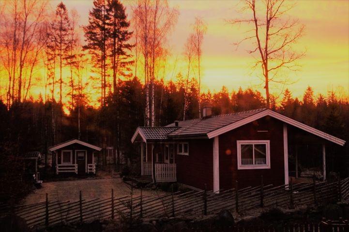 Morgendämmerung im SchwedenParadies