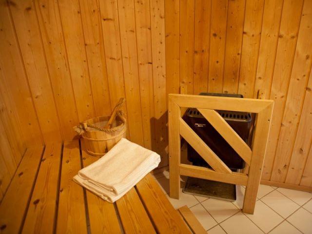 Die hauseigene Sauna - ganzjährig ein Genuss