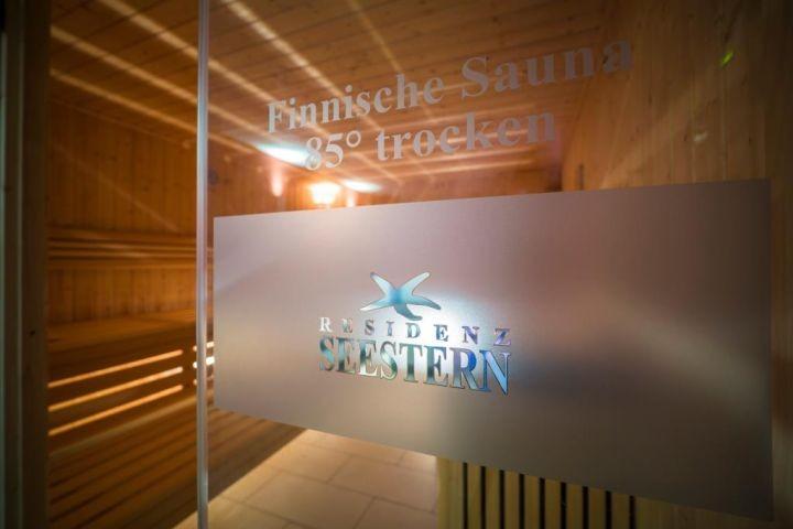 Finnische Sauna im Wellnessbereich