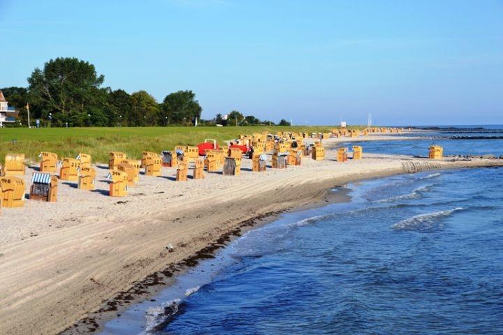 Der Strand der Ostsee