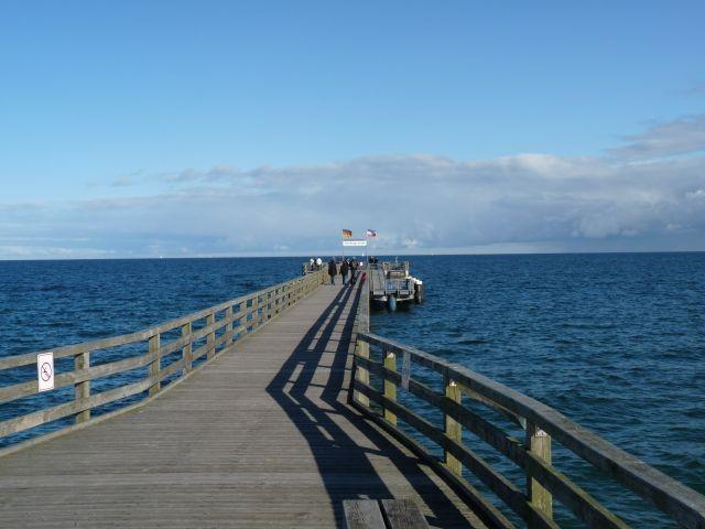 Die Seebrücke am Schönberger Strand