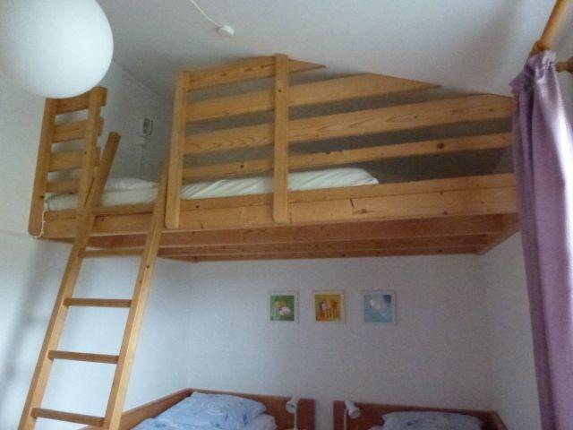 Blick ins Kinderzimmermit Empore