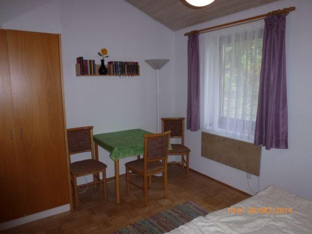 Sitzecke im Doppelschlafzimmer