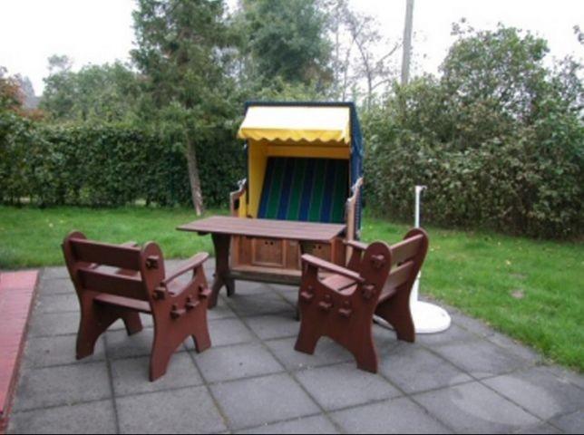 Terrasse - 5000 m² Garten