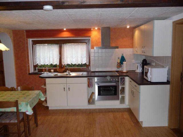 moderne NEU eingerichtete Küchenzeile