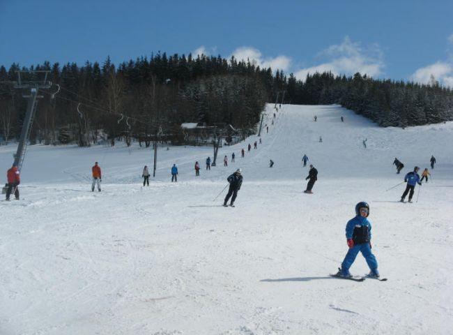 Skilift in Crottendorf am Schießberg