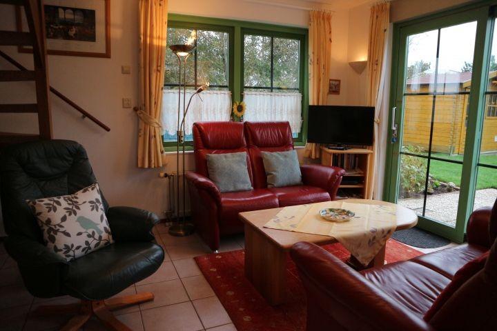 Wohnraum mit Gartenblick