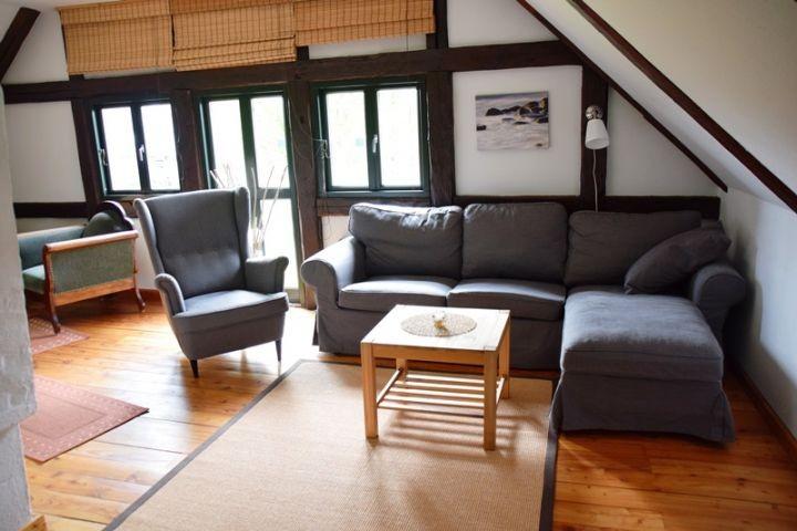 Wohnbereich Ferienhaus Alte Backstube in Barsbek bei Schönberg