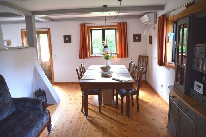 Essbereich Ferienhaus Alte Backstube in Barsbek bei Schönberg