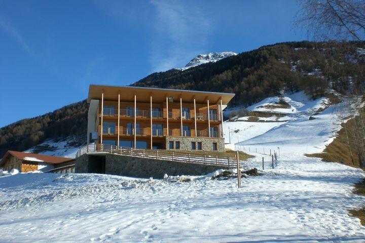 Aviunshof im Winter