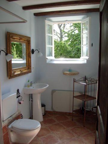 Badezimmer von La Rostane