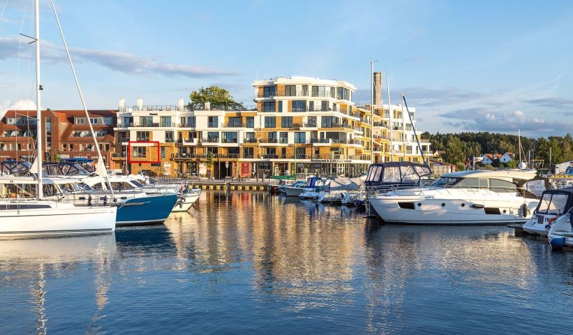 Lage des Apartment in der Hafenresidenz