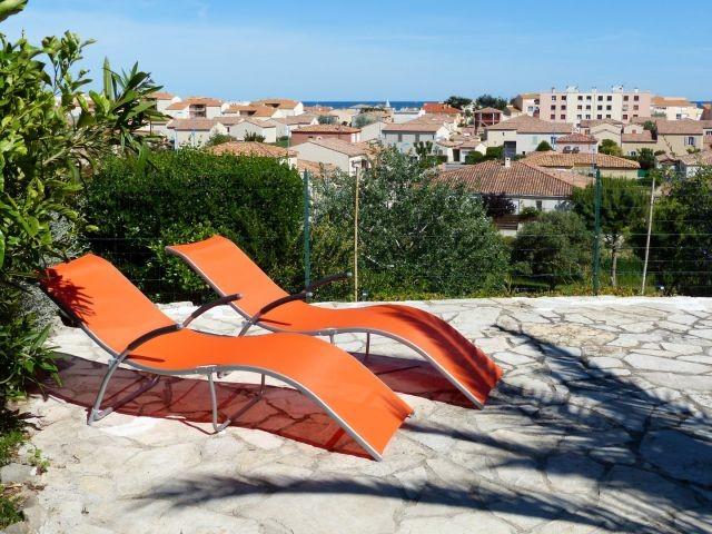 Terrasse Ferienhaus Soleil