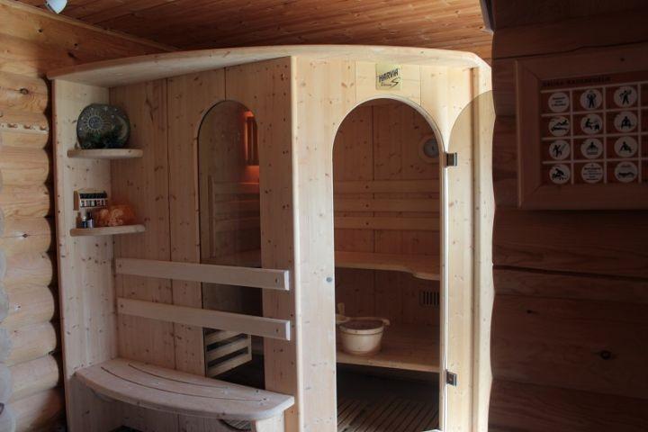 Finische Designer Sauna