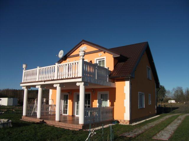 Ferienhaus Orange Hinterseite