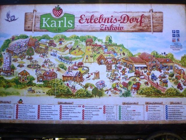 Karls Erlebnisdorf 13 km entfernt