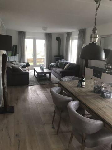 Wohnbereich Esszimmer und Wohnzimmer
