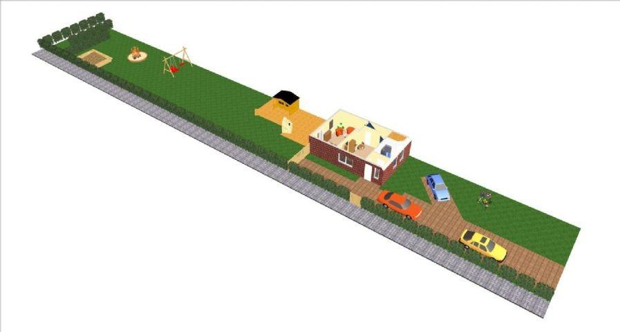 Übersicht über das Grundstück