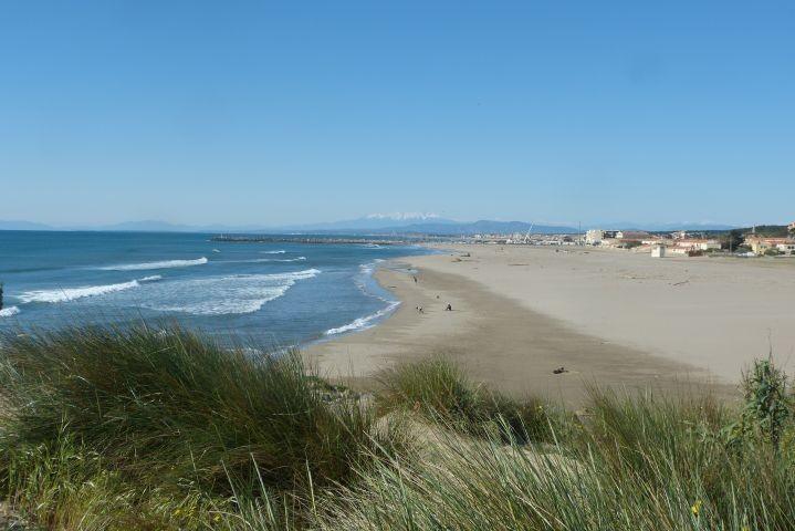 700m entfernter Strand im Ortszentrum