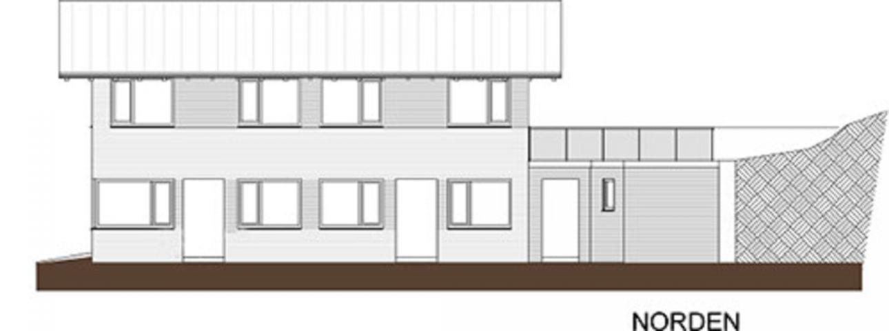 Geplante Hausansicht Neubau